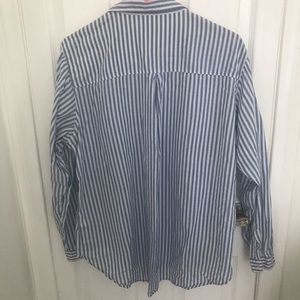 Tops - Size 14, H&M Stripped Blue/White Blouse